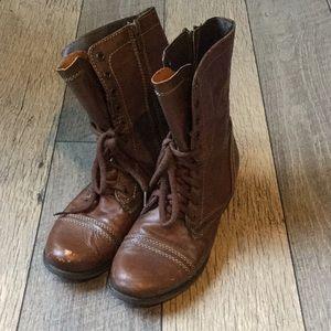 Steven Madden Brown Troopa Boots